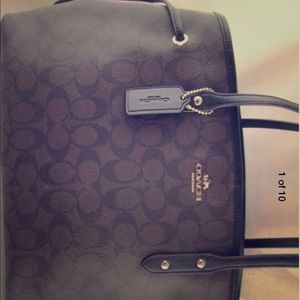 Drawstring Coach purse brand new!!!